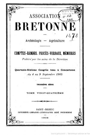 Bulletin ararcheologique_Association_bretonne_1905-couverture