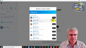 skype comptes conversations groupes